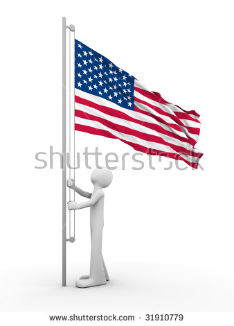 Raise The Flag Stock Photos, Images, & Pictures.