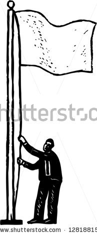Raise The Flag Stock Images, Royalty.