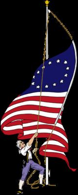 Image: Flag Raising.