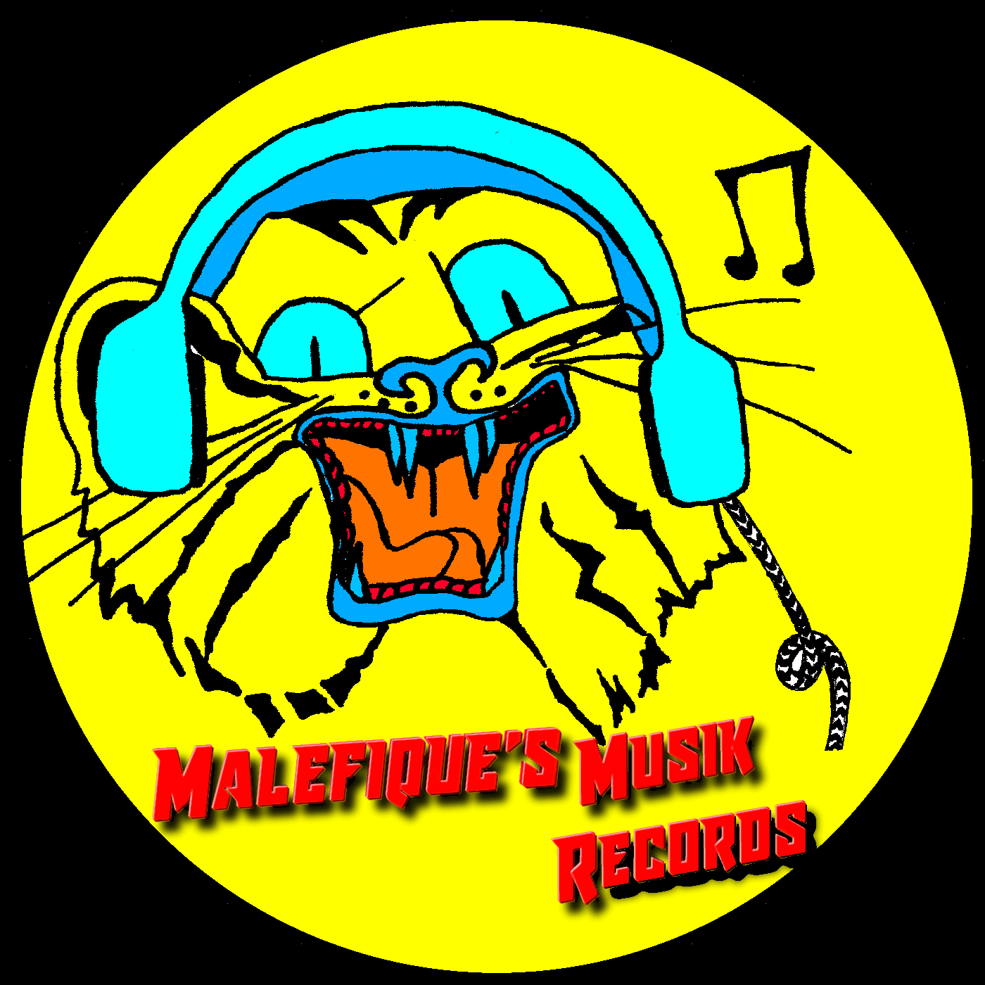 Malefique\'s Musik Records.