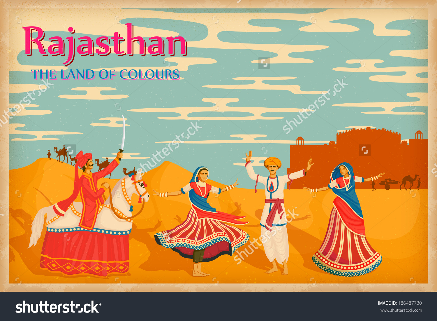 Hd clipart of rajasthan.