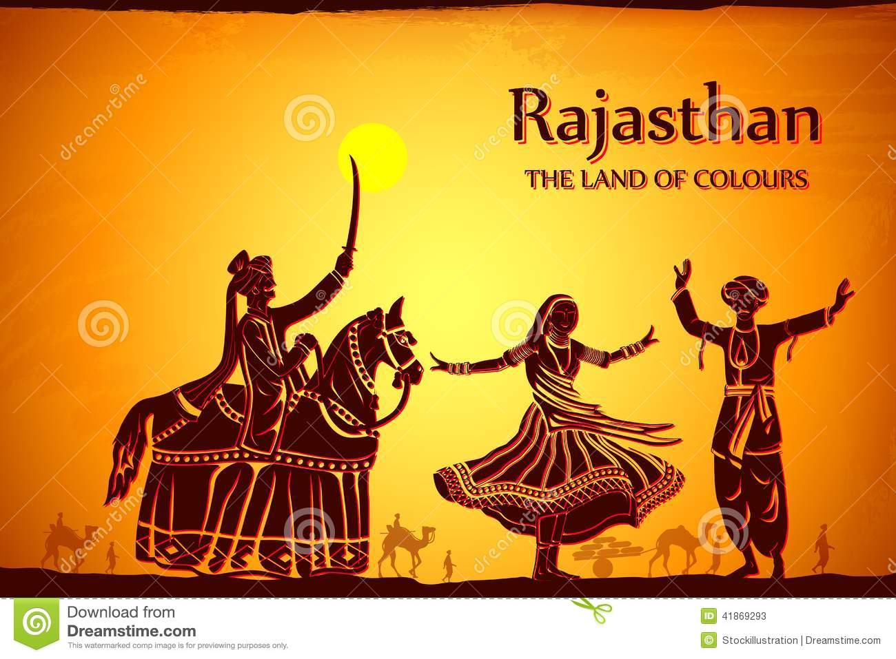 Rajasthan Stock Illustrations.