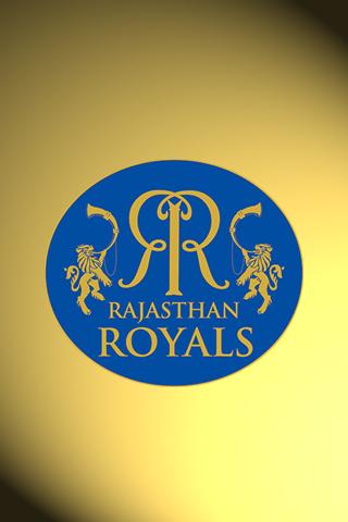 Rajasthan Royals Logo iPhone Wallpaper.