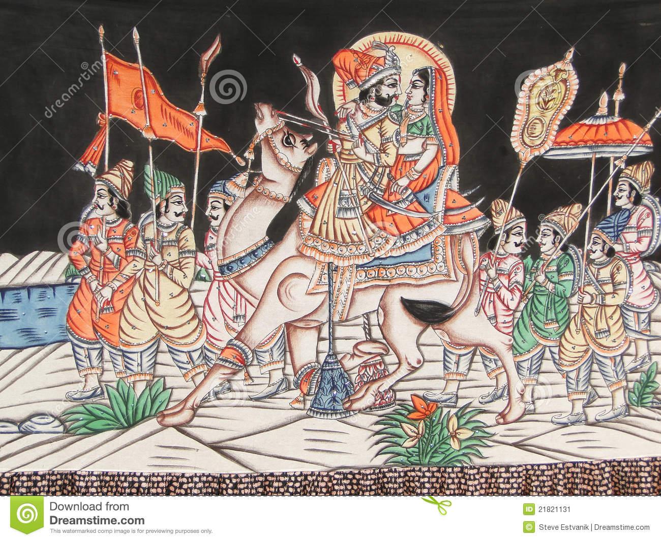 Rajput Stock Illustrations.