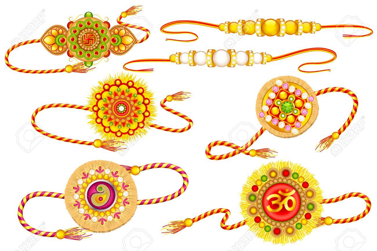 662 Rakhi Cliparts, Stock Vector And Royalty Free Rakhi Illustrations.