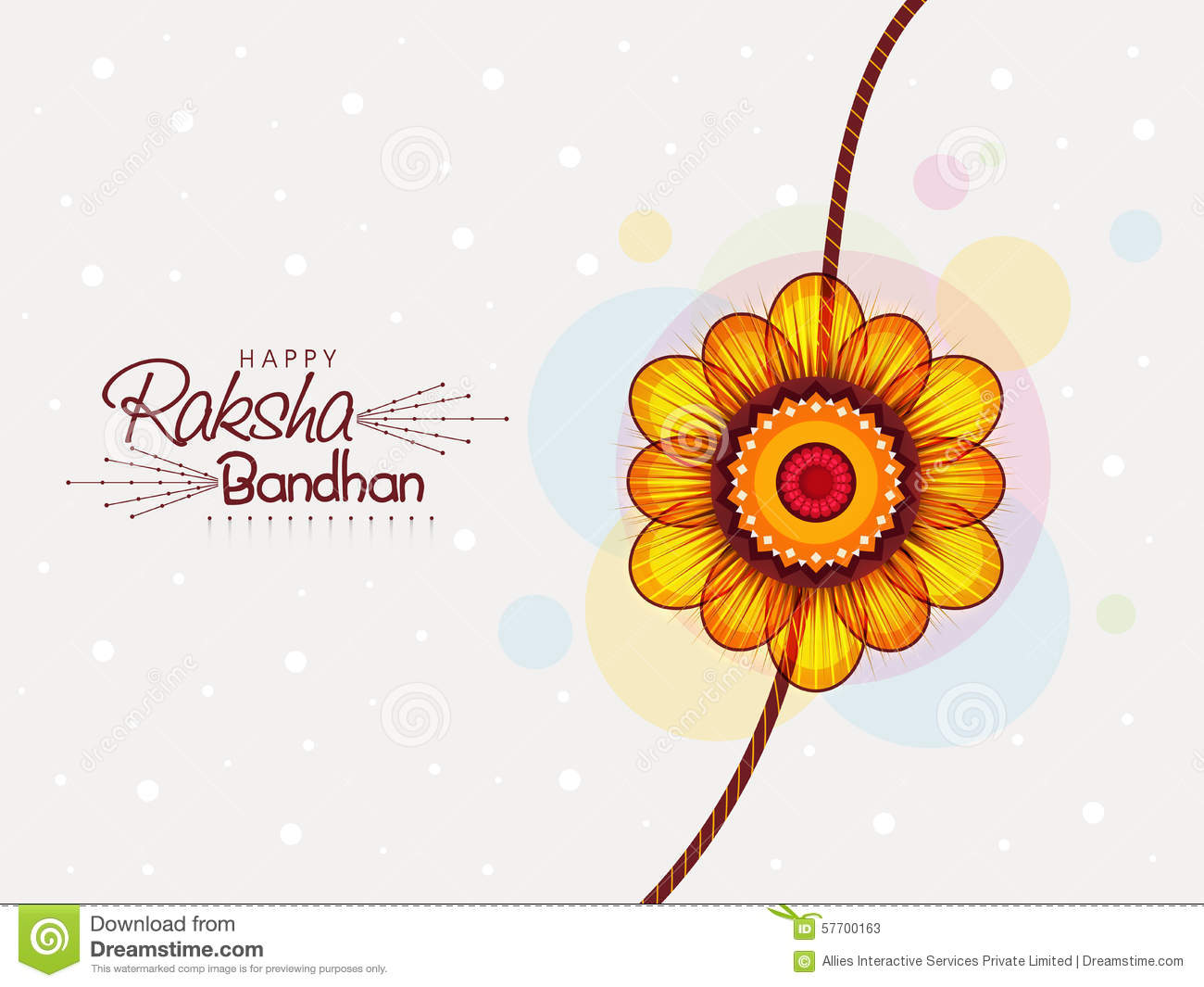 Rakhi Stock Illustrations.