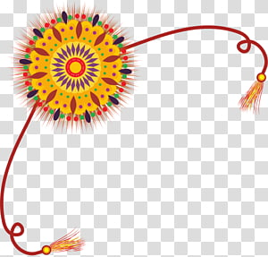 Raksha Bandhan transparent background PNG cliparts free.