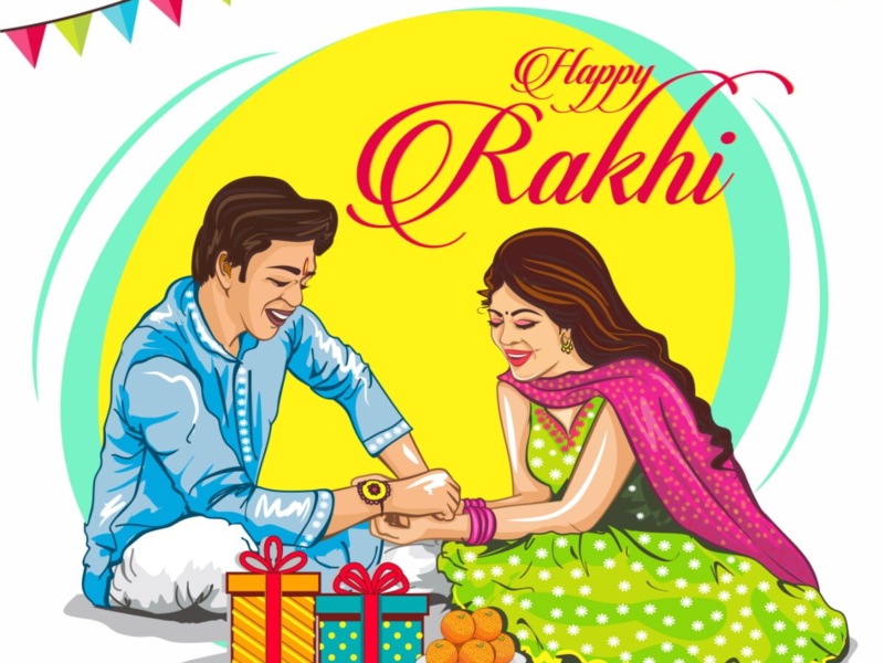 Raksha Bandhan 2019 Cards, Images, Wishes, Messages & Status.