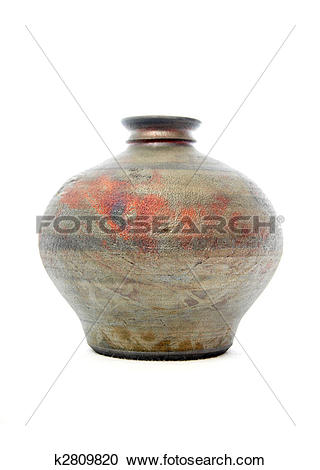 Stock Photography of Raku pottery k2809820.