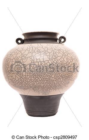 Picture of Raku Art pottery.
