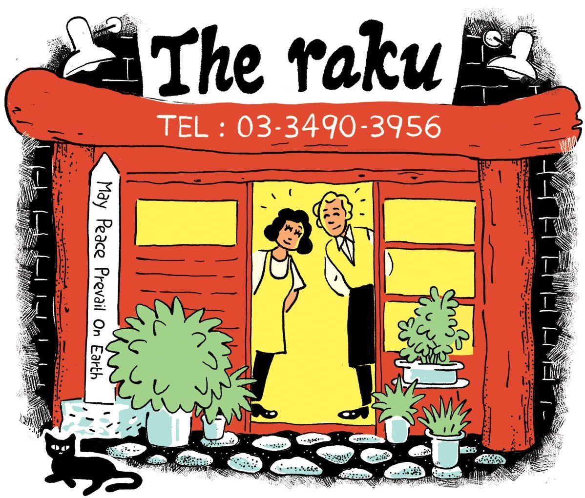 Famous sightseeing locations and activity information: The raku.