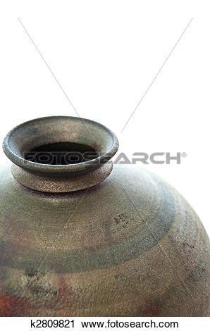 Stock Photography of Raku pottery k2809821.