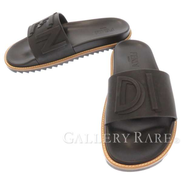 Fendi sandals logo rebab rack men size 6 7X1148 FENDI Japan.