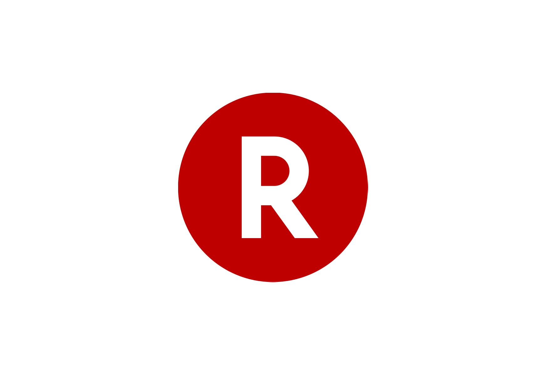 Rakuten logo.