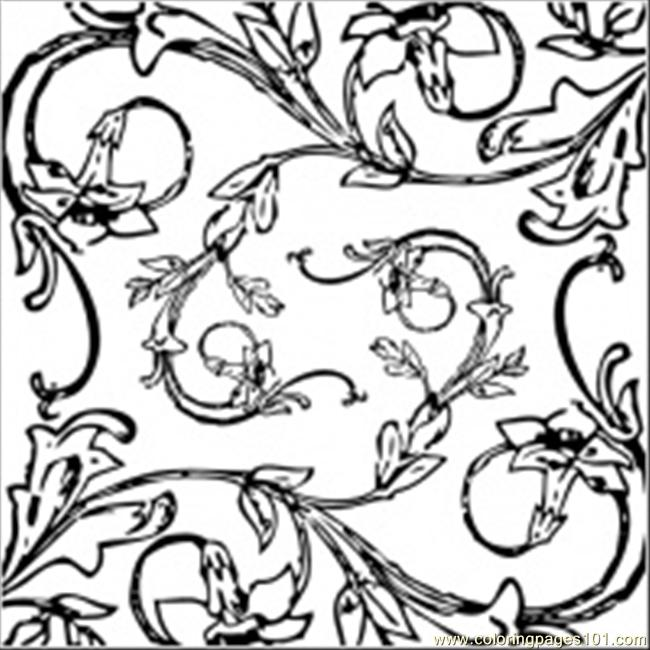 Ral Decoration Clip Art 19918 Coloring Page.