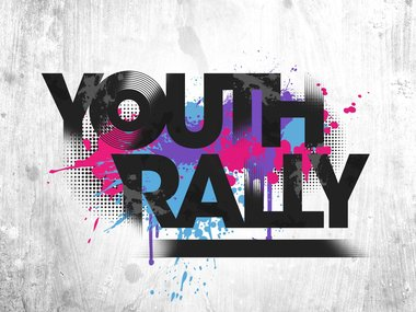 Youth Rally Clipart.
