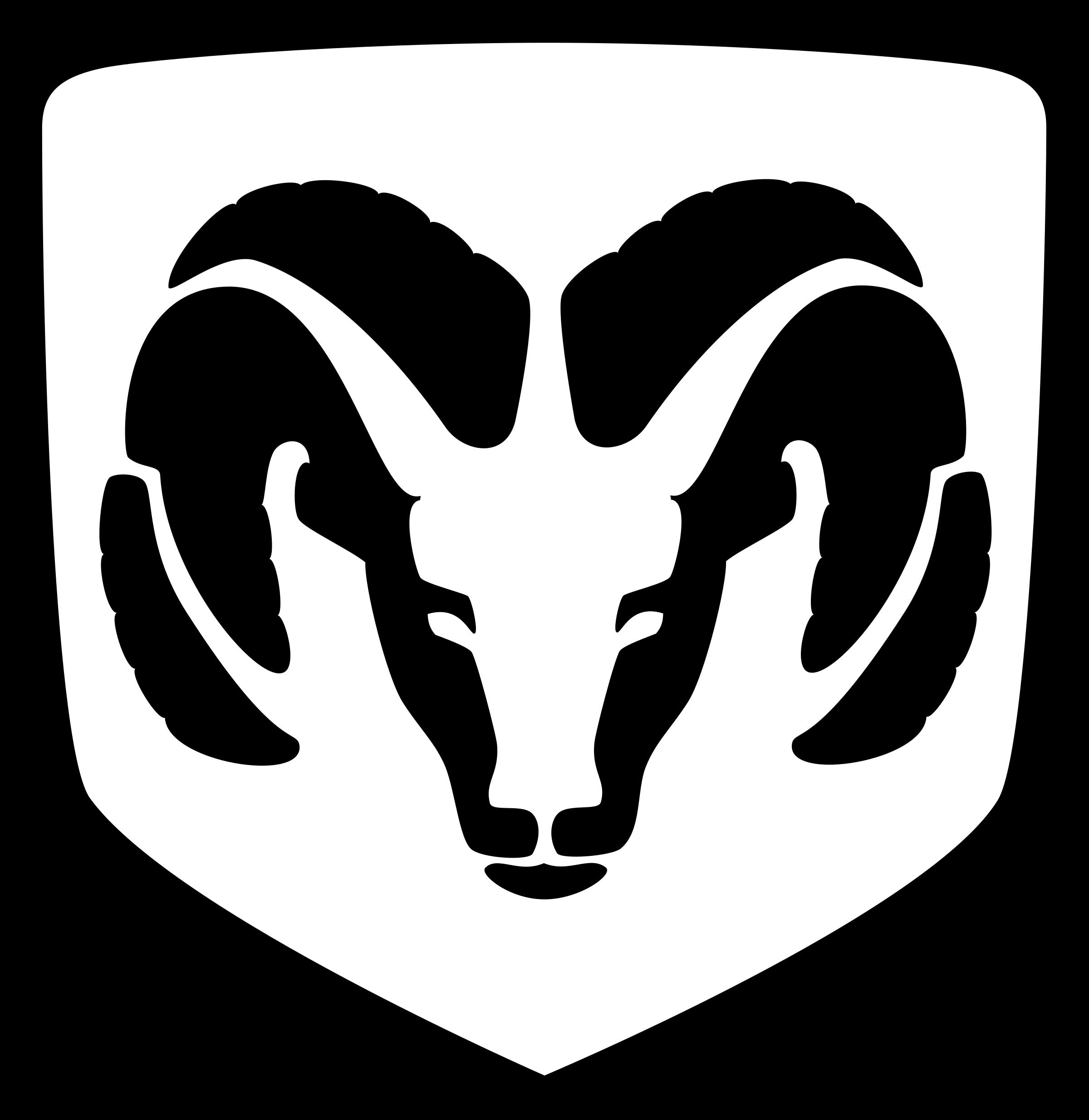 DODGE RAM Logo PNG Transparent & SVG Vector.