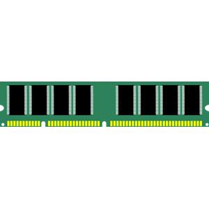 Computer Ram Memory Clipart.