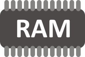 Ram Chip Clip Art at Clker.com.