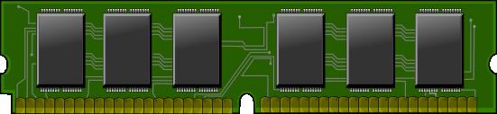 Free Computer RAM Clip Art.