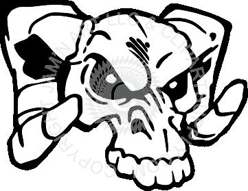 Ram Skull Clipart.