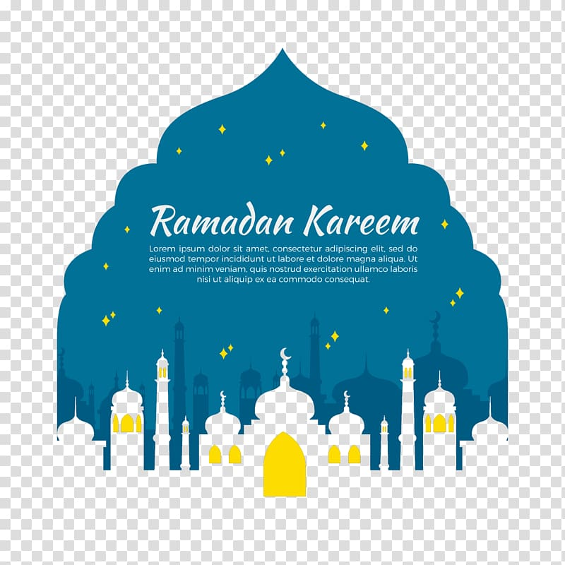 Ramadan Kareem text overlay illustration, Music Song Lyrics.