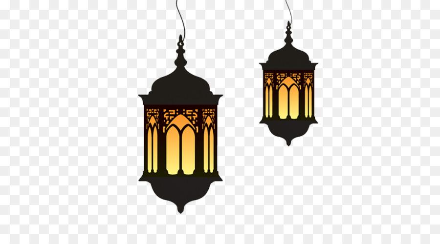 Eid Mubarak Lantern clipart.