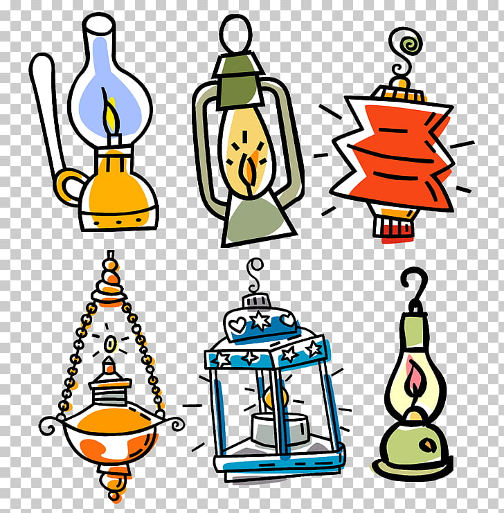 Fanous Ramadan Lantern Symbol, Ramadan, six assorted.
