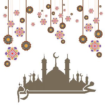 Arabic Vector Design Eid Al Adha, Arabic, Islamic, Pattern.