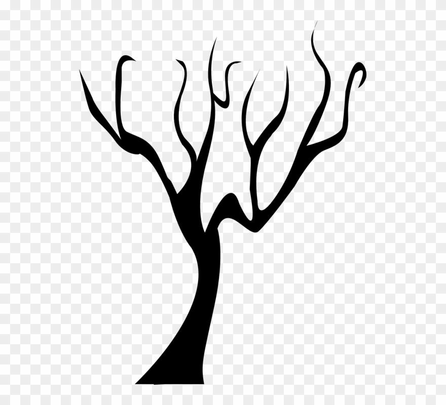 Tree Outline 17, Buy Clip Art.
