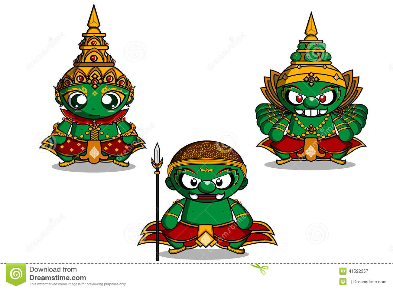 Ramayana Stock Illustrations.