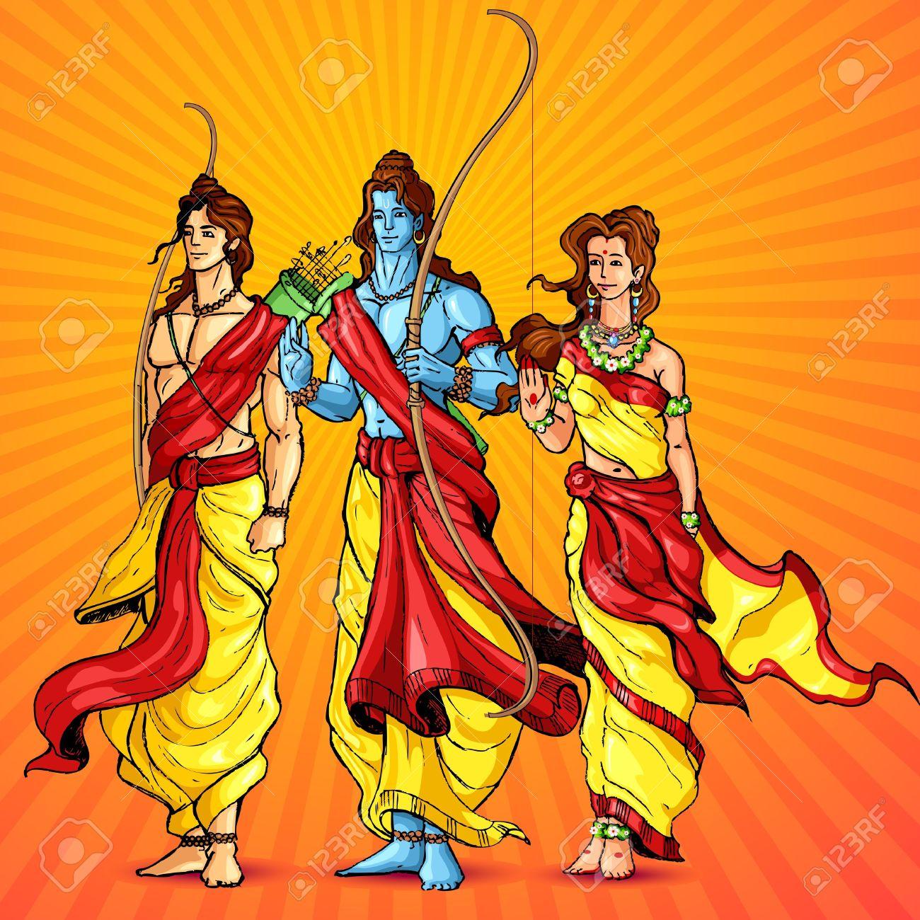 Ramayana images clipart.