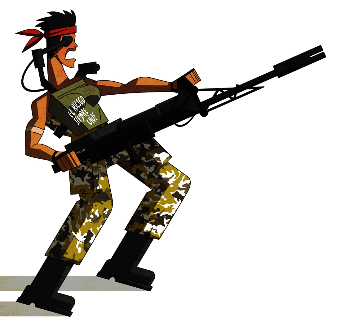 Rambo clipart #11