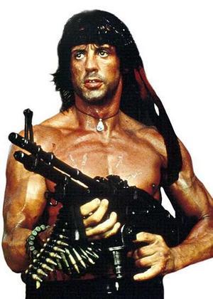 Rambo clipart.