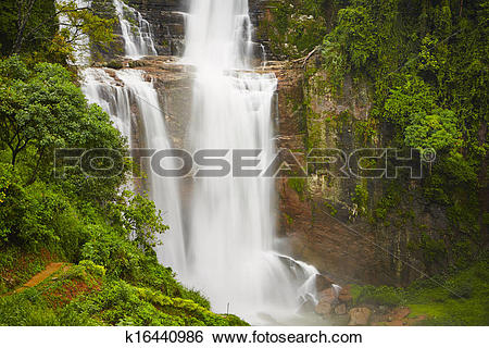 Stock Images of Waterfall k16440986.