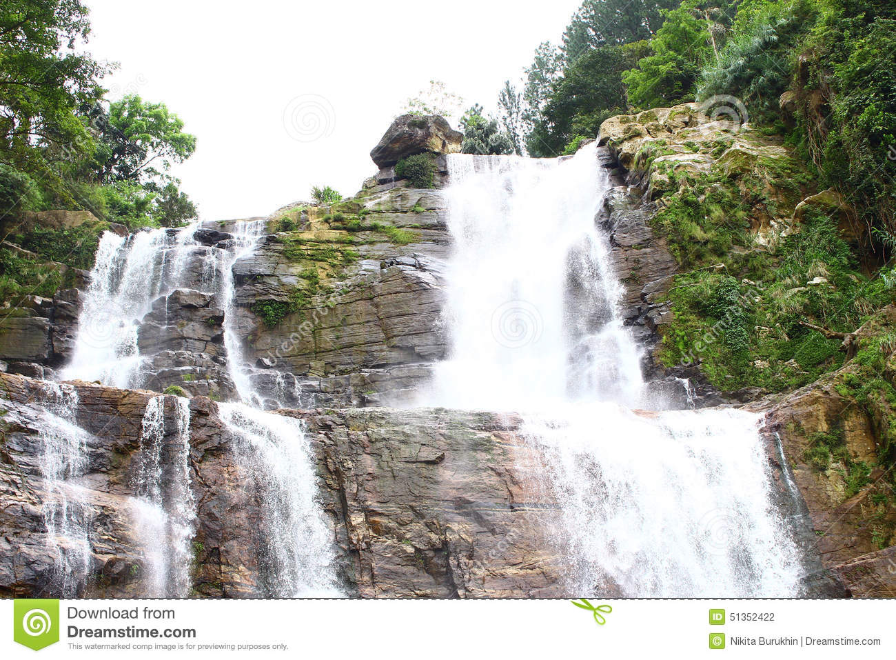 Ramboda Falls Sri Lanka Stock Photos, Images, & Pictures.