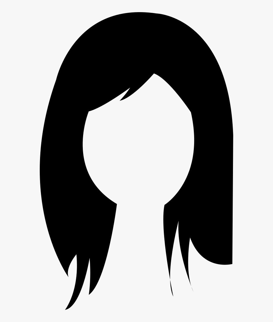 Brunette Female Woman Long Hair.