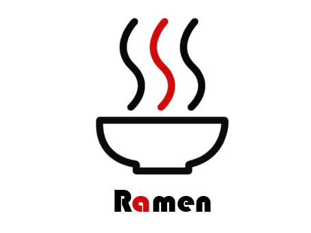Ramen Logos.