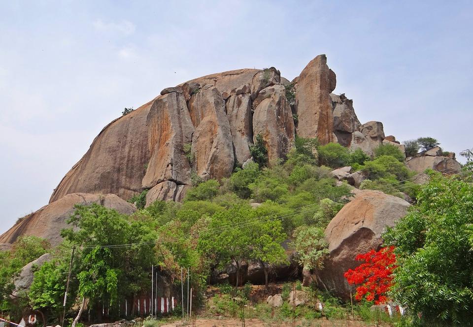 Free photo: Ramgiri Hills, Ramadevarabetta.