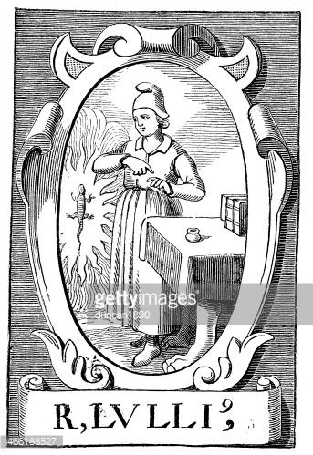 The Alchemist Ramon Llull premium clipart.