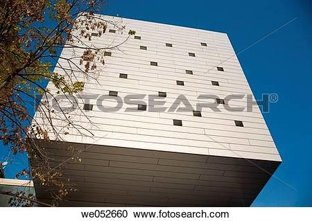 Stock Photography of Blanquerna Foundation building.