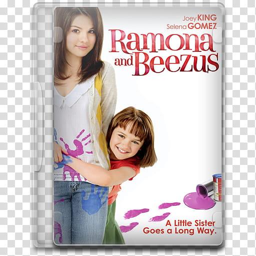 Movie Icon , Ramona and Beezus, Ramona and Beezus DVD case.