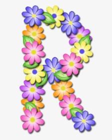 Letras De Flores Png, Transparent Png , Transparent Png.