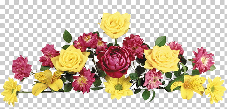 Jardín rosas flores cortadas diseño floral ramo de flores.