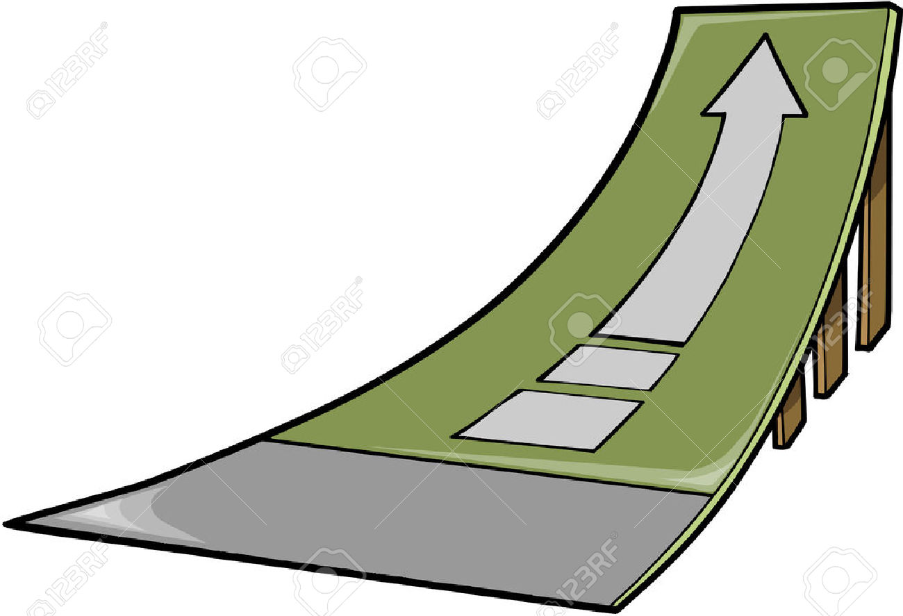 Skateboard Ramp Clip Art.