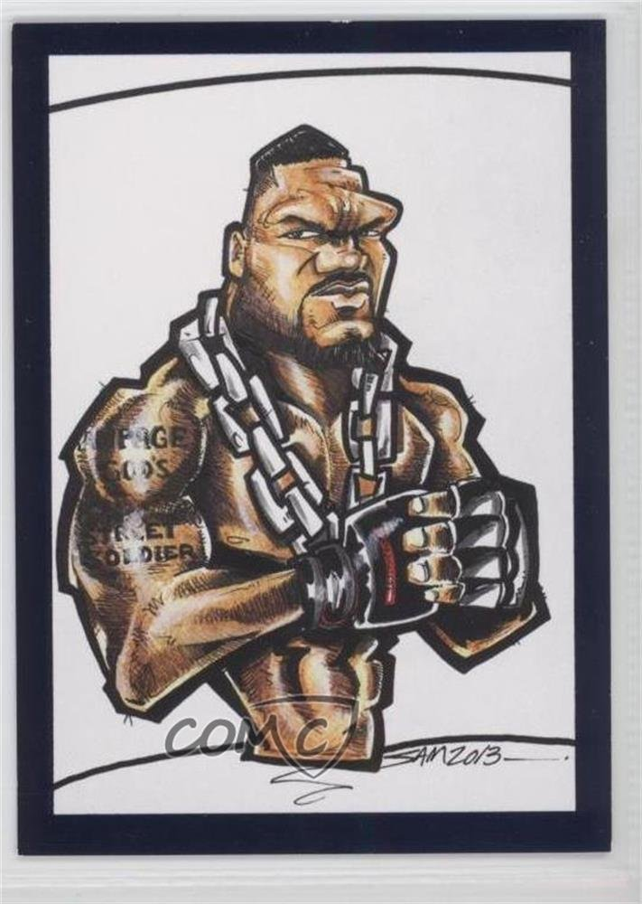 Rampage Jackson #7/10 (Trading Card) 2013 TRISTAR TNA Impact.