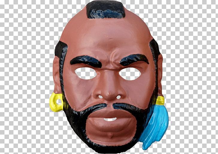 Mister T Mask, Rampage Jackson mask illustration PNG clipart.