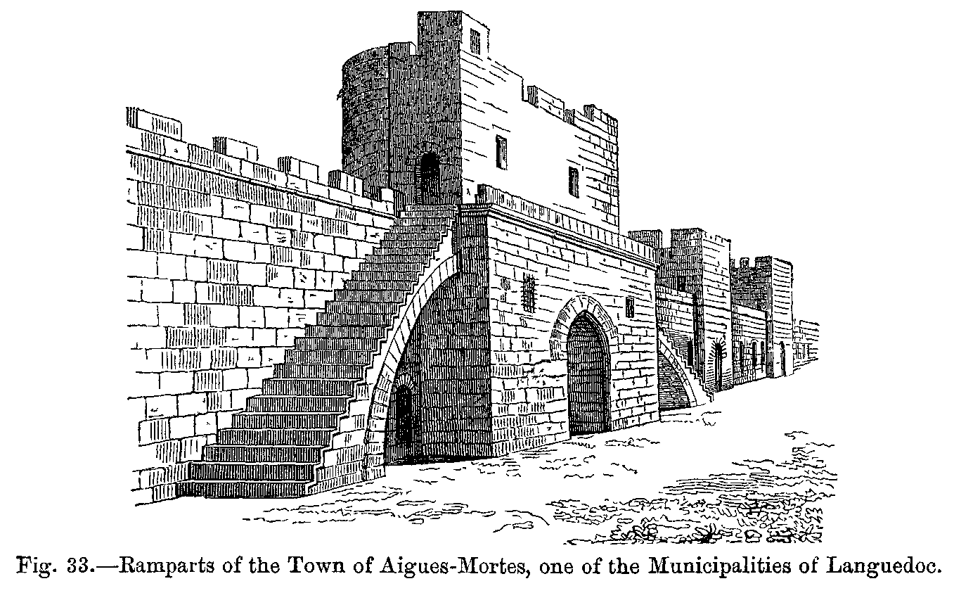 File:Ramparts of the Town of Aigues Mortes one of the.