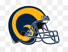 Los Angeles Rams Helmet clipart.