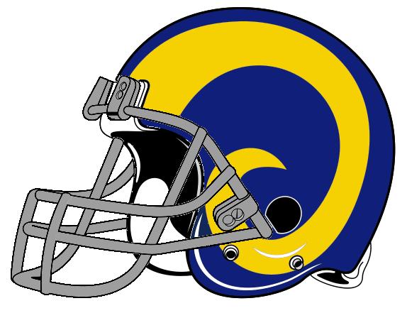 Rams helmet logo.